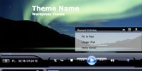 Windows Media Player - Wordpress Theme