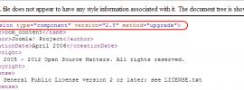 Joomla version detect