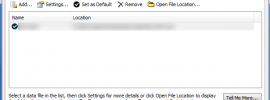 Outlook Data Files