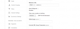 Google Analytics Exclude bots and spiders